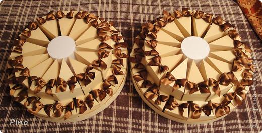 Это (наверное никто не догадается) заготовки для торта из бонбоньерок. Замечательная идея принадлежит Татьяне62 ( http://stranamasterov.ru/node/160727 ) фото 12