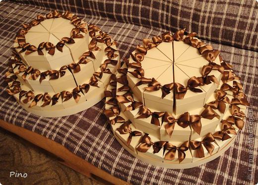 Это (наверное никто не догадается) заготовки для торта из бонбоньерок. Замечательная идея принадлежит Татьяне62 ( http://stranamasterov.ru/node/160727 ) фото 13