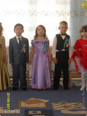 это платье я сшила старшей дочери на выпускной в детский сад фото 2