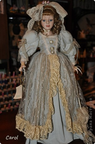 Это датская кукла Марта. Высота 64 см. № 140 в Скандинавской коллекции фото 4