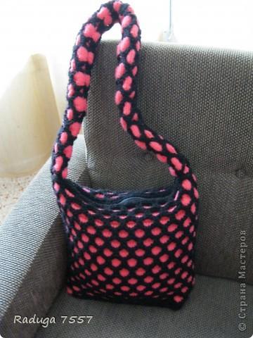 В этой сумке переделывала ручки и верх. фото 8