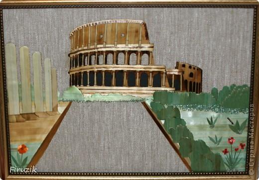 Вот такой у меня получился Колизей