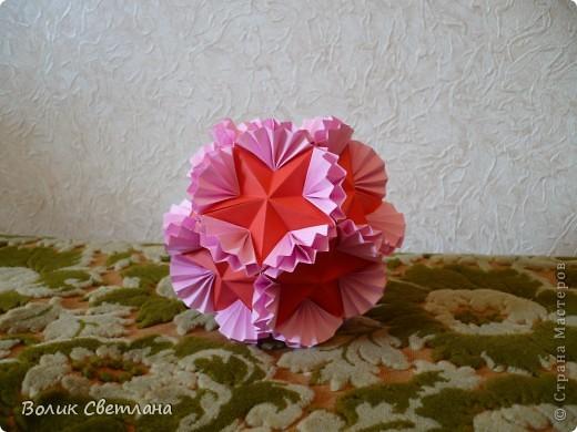 У Томоко Фусе эта кусудама называется Бабочка. По схеме из глубин интернета фото 3