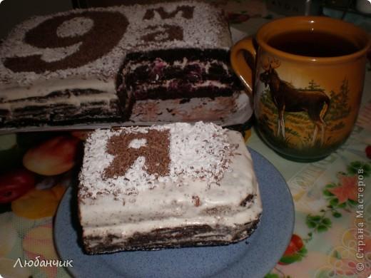 Торт-повторюшка, но на свой лад:)) фото 2