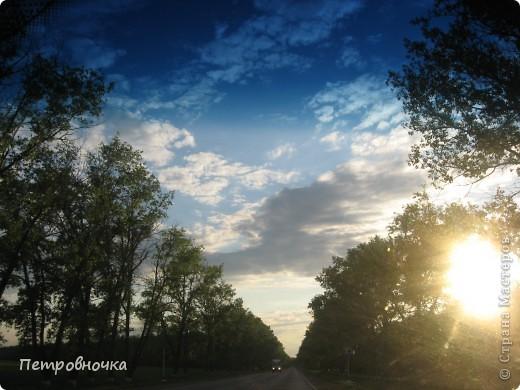 А еще я очень люблю снимать небо. Эта стихия меня завораживает. Небо над нашим храмом всегда разное. фото 12