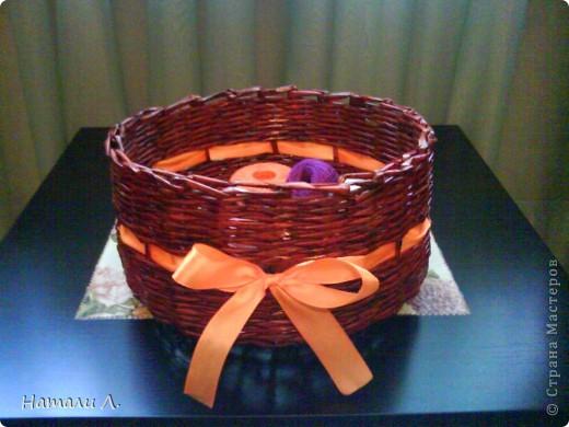 плетеночки (корзиночка, кашпо) фото 2