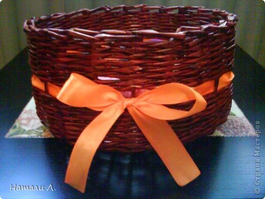 плетеночки (корзиночка, кашпо) фото 1
