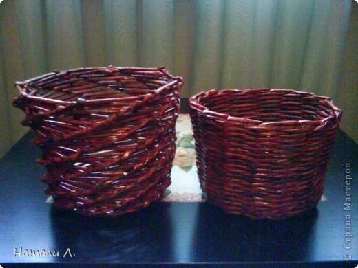 плетеночки (корзиночка, кашпо) фото 4