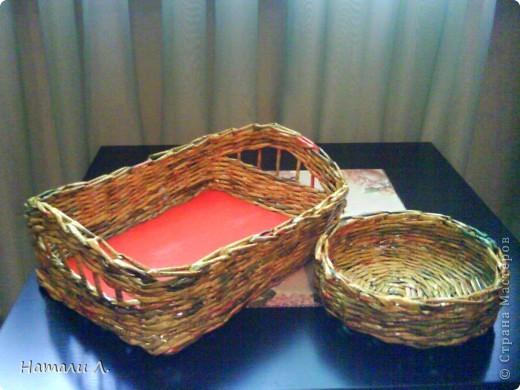 плетеночки (корзиночка, кашпо) фото 5