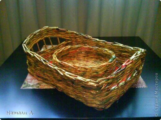плетеночки (корзиночка, кашпо) фото 6