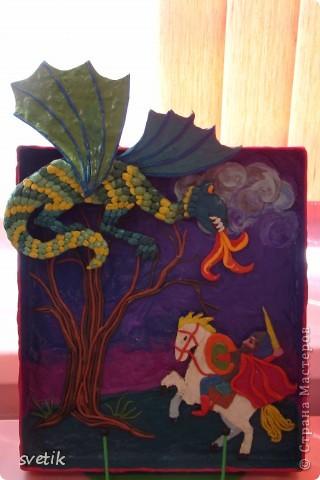 """В конце года в ЦВР """"Эврика"""" проходила выставка детских работ. Как и обещала, показываю Вам. Это часть работ из пластилина педагог Володина Е.В.( в следующем репортаже покажу пластилиновые работы к Пасхе) фото 4"""