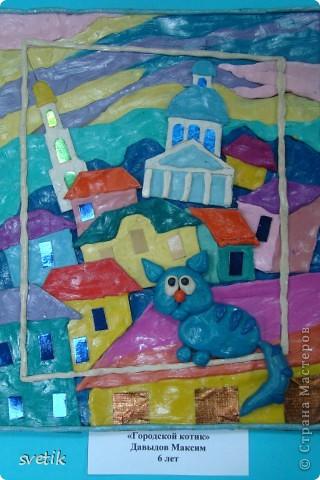 """В конце года в ЦВР """"Эврика"""" проходила выставка детских работ. Как и обещала, показываю Вам. Это часть работ из пластилина педагог Володина Е.В.( в следующем репортаже покажу пластилиновые работы к Пасхе) фото 16"""