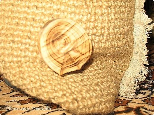 """Как-то я уже показывала эту сочную летнюю вышивку.Набор фирмы""""""""Риолис""""""""из серии""""""""Сотвори сама""""""""шерсть.С самого начала я знала,что ей я оформлю сумку.А вот что это будет за сумка-представления не имела... фото 5"""