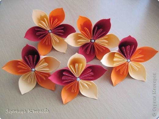 Кусудама Оригами Цветы