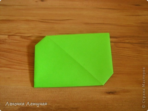 Вот такой конверт мы будем собирать. фото 12