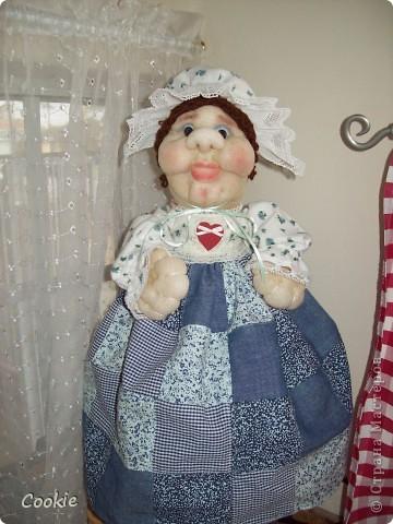 Мои текстильные куклы. фото 5