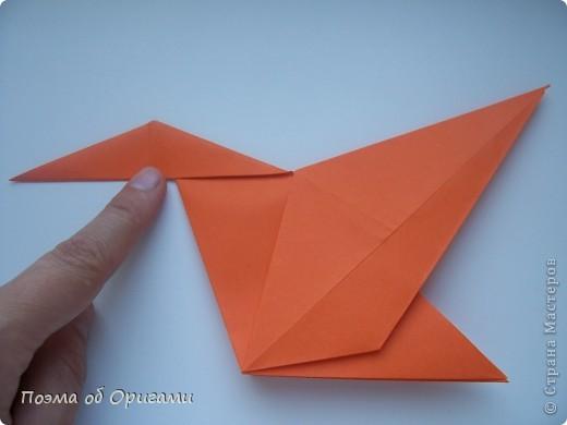 Птичий двор был излюбленной темой в живописи начала ХХ века. В начале ХХI-го века до него добралось и оригами. Все фигурки складываются очень просто и под силу даже маленьким деткам. фото 10