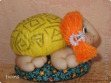 Черепашка-игольница по МК Ликмы фото 4