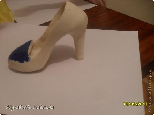 сестра попросила сделать туфельку в магазин обуви, в подарок на день торговли. фото 5