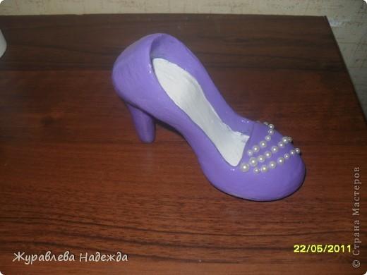 сестра попросила сделать туфельку в магазин обуви, в подарок на день торговли. фото 6
