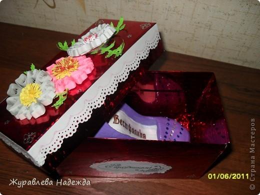 сестра попросила сделать туфельку в магазин обуви, в подарок на день торговли. фото 4