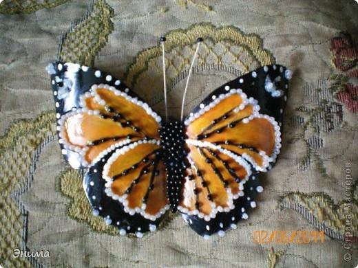 Поделки бабочек из материала