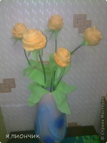 Корзина с розами фото 7