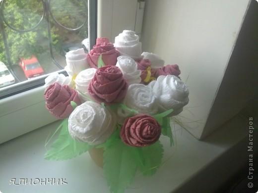 Корзина с розами фото 4
