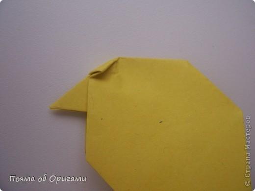 Птичий двор был излюбленной темой в живописи начала ХХ века. В начале ХХI-го века до него добралось и оригами. Все фигурки складываются очень просто и под силу даже маленьким деткам. фото 29