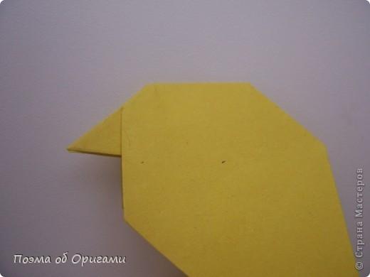 Птичий двор был излюбленной темой в живописи начала ХХ века. В начале ХХI-го века до него добралось и оригами. Все фигурки складываются очень просто и под силу даже маленьким деткам. фото 30