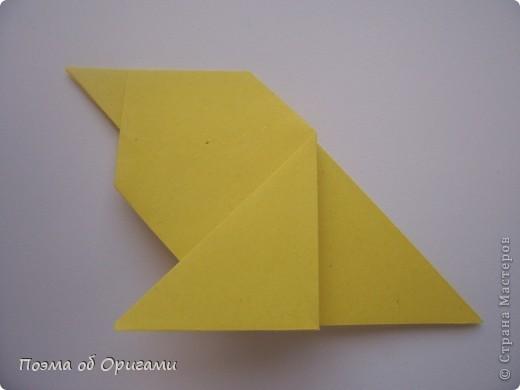 Птичий двор был излюбленной темой в живописи начала ХХ века. В начале ХХI-го века до него добралось и оригами. Все фигурки складываются очень просто и под силу даже маленьким деткам. фото 31