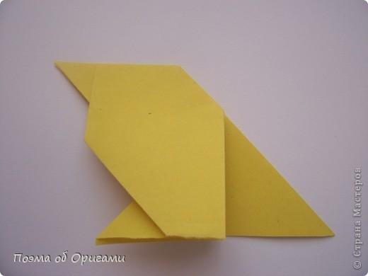 Птичий двор был излюбленной темой в живописи начала ХХ века. В начале ХХI-го века до него добралось и оригами. Все фигурки складываются очень просто и под силу даже маленьким деткам. фото 32