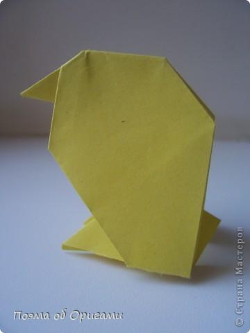 Птичий двор был излюбленной темой в живописи начала ХХ века. В начале ХХI-го века до него добралось и оригами. Все фигурки складываются очень просто и под силу даже маленьким деткам. фото 34