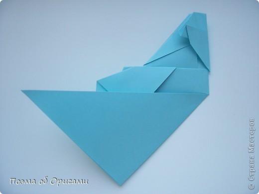 Птичий двор был излюбленной темой в живописи начала ХХ века. В начале ХХI-го века до него добралось и оригами. Все фигурки складываются очень просто и под силу даже маленьким деткам. фото 51