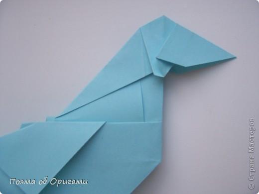 Птичий двор был излюбленной темой в живописи начала ХХ века. В начале ХХI-го века до него добралось и оригами. Все фигурки складываются очень просто и под силу даже маленьким деткам. фото 52