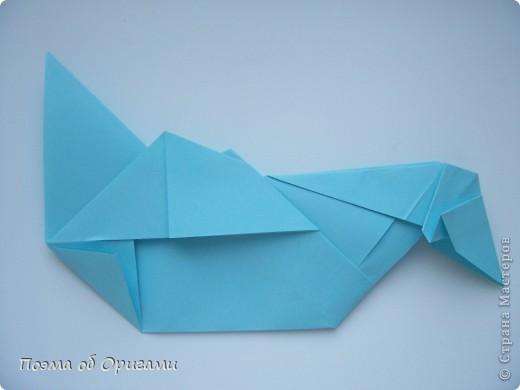 Птичий двор был излюбленной темой в живописи начала ХХ века. В начале ХХI-го века до него добралось и оригами. Все фигурки складываются очень просто и под силу даже маленьким деткам. фото 53