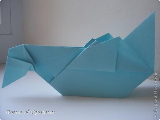 Птичий двор был излюбленной темой в живописи начала ХХ века. В начале ХХI-го века до него добралось и оригами. Все фигурки складываются очень просто и под силу даже маленьким деткам. фото 54
