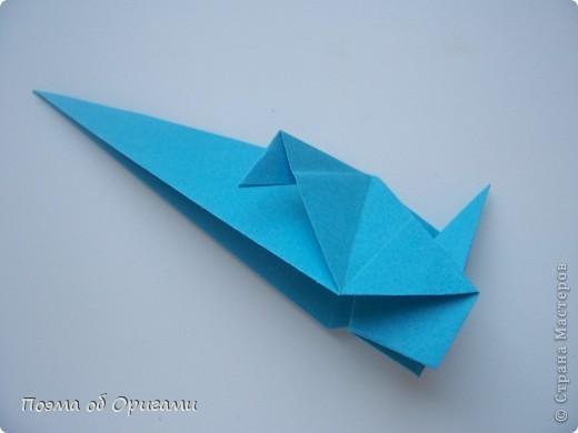 Птичий двор был излюбленной темой в живописи начала ХХ века. В начале ХХI-го века до него добралось и оригами. Все фигурки складываются очень просто и под силу даже маленьким деткам. фото 62