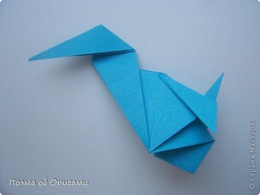 Птичий двор был излюбленной темой в живописи начала ХХ века. В начале ХХI-го века до него добралось и оригами. Все фигурки складываются очень просто и под силу даже маленьким деткам. фото 65