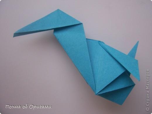 Птичий двор был излюбленной темой в живописи начала ХХ века. В начале ХХI-го века до него добралось и оригами. Все фигурки складываются очень просто и под силу даже маленьким деткам. фото 66