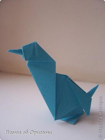 Птичий двор был излюбленной темой в живописи начала ХХ века. В начале ХХI-го века до него добралось и оригами. Все фигурки складываются очень просто и под силу даже маленьким деткам. фото 68
