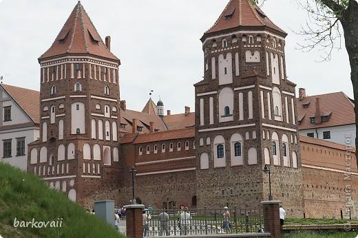 Мирский замок в Белоруссии фото 1