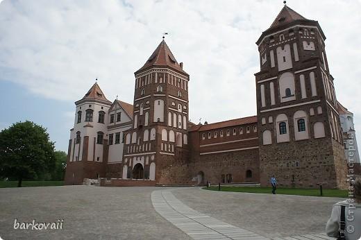 Мирский замок в Белоруссии фото 2