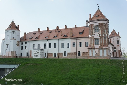Мирский замок в Белоруссии фото 3