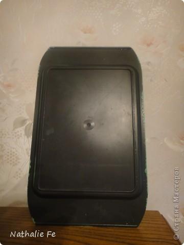Салфетка, акриловая краска фото 2