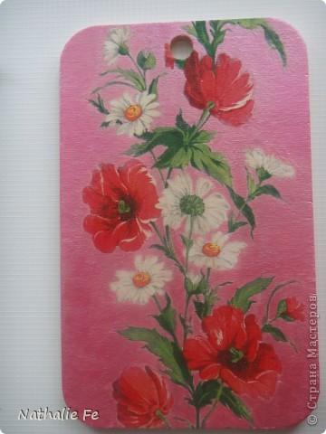 Салфетка, акриловая краска фото 4