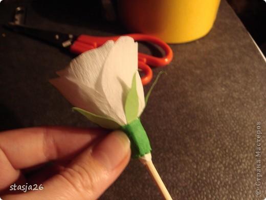 Корзина роз с мк по изготовлению розы фото 26