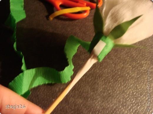 Корзина роз с мк по изготовлению розы фото 27