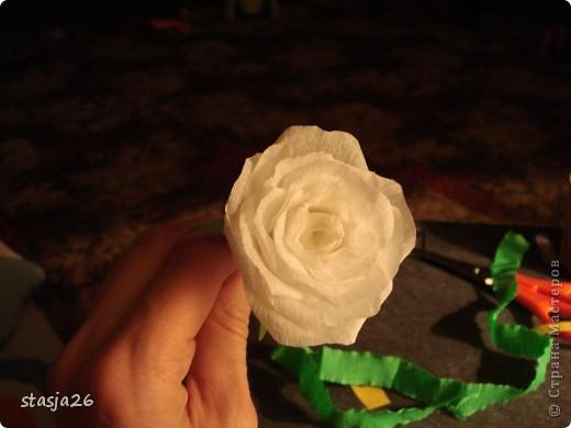 Корзина роз с мк по изготовлению розы фото 29