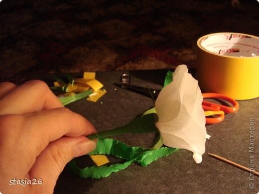 Корзина роз с мк по изготовлению розы фото 30